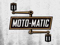 Moto-matic Mopeds | Logo