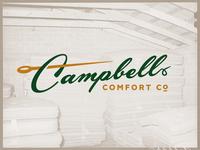 Campbell Comfort Co. —Logo Design