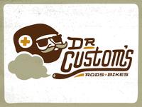 Dr. Custom's | Logo