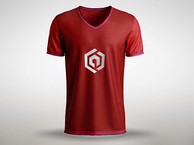 Artbox  Tshirt popular smart simple ux ui t-shirt artbox branding white red mock up logo