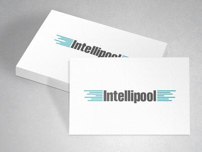 Tecnology Logo mock up branding 2 color tecnology business card visiting card popular smart modern blue logo typography ui