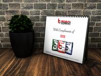 Desk Calendar bengal bengal cement bengal cement dhaka ui  ux calendar design calendar ui calendar 2020 desk desk calendar