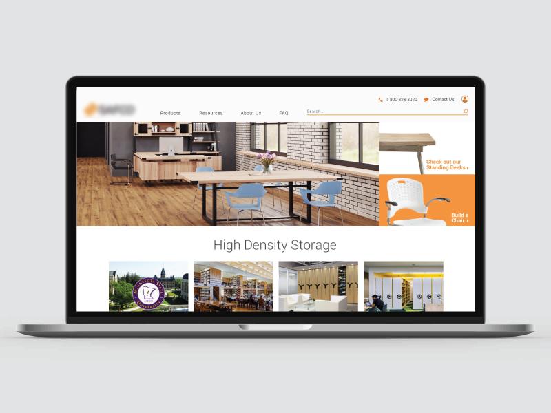 Furniture Site branding website ui ux store contracting furniture store