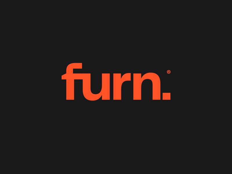 Furn Logotype identity design custom font type identity collateral design logo cbd creative direction typography brandidentity art direction logotype branding