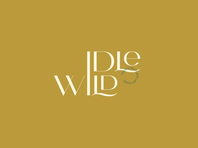Idlewild Home Essentials stationary identity collateral typography design logo creative direction brandidentity art direction logotype branding