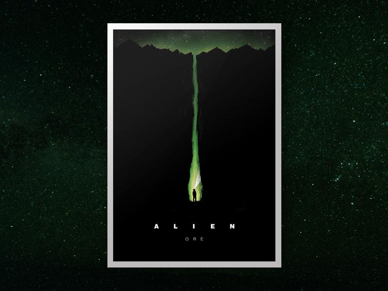 Alien Ore Film Poster