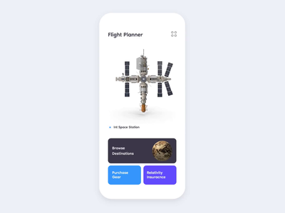 Wormhole ticket booking ticket space exploration interstellar travel space illustration interaction ios animation invision studio invision mockup app