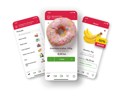 Tommy Spiza - ecommerce app locastic agency grocery app uxui app design ecommerce mobile app