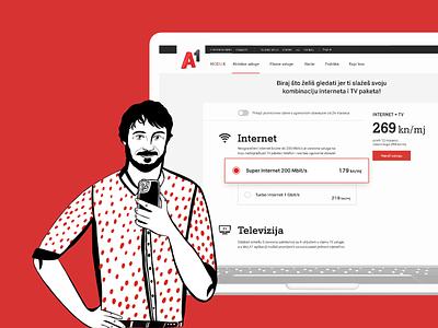 A1 -  Website Showcase branding locastic ui design ux