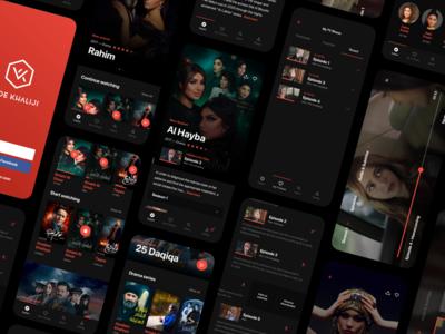 Content streaming service illustration agency web design platform programming development uidesign ui uxdesign ux service streaming netflix