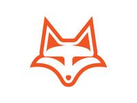 Simple Unique Fox Head Logo