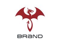 Stylish Dragon Logo