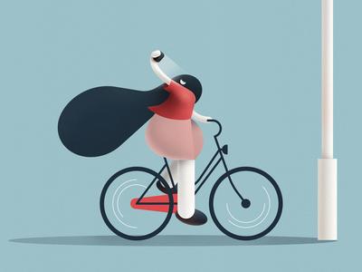 Selfie bike