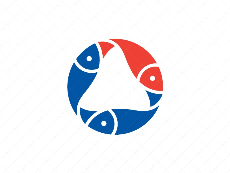 Unique O Fish Logo clever o fish unique creative branding logo business startup lettermark seafood restaurant