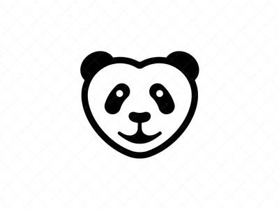 Love Panda Logo