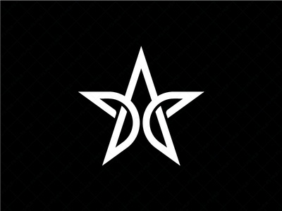 Letter A Star Logo