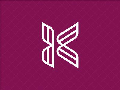 Unique Letter K Logo