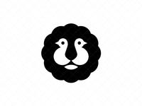 Unique Birds Lion Logo