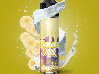 Banana Milk Photo Manipulation