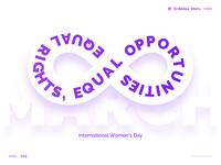 8 March - International Womens Day
