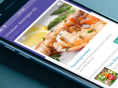 LivingSocial Mobile Tiles ui user experience ux mobile mobile app tiles livingsocial commerce ios