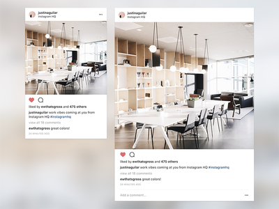Instagram Web Updates mobile web ui ux web design instagram