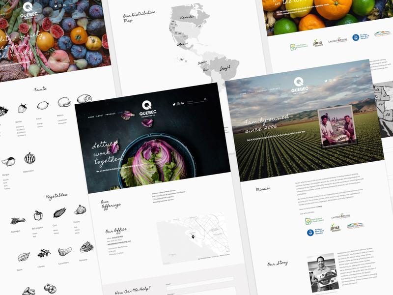 Branding & Web Design Quebec Distributing Co.