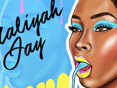 Aaliyah Jay Came Thru Drippin