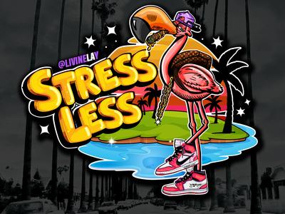 Stressless Cartoon Logo