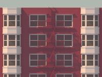 Brick and Bay Windows