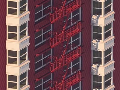 Brick and Bay Windows (Alternate)