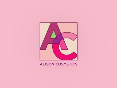 Alison Cosmetics Logo Concept