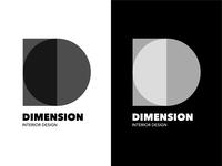 Dimension Interior Design Logo