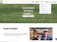 Colorado Springs Sawmill Website