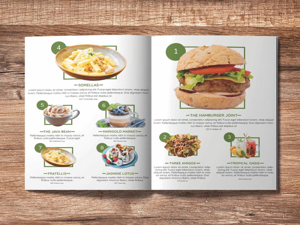 Magazine Food Layout Design foodies food layouts layout design grid magazine design magazine layout graphic design