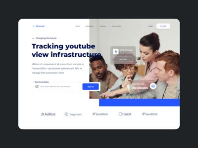 DW 015 - Alternative Layout webdesign blue white design web ux ui
