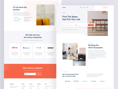 DW 025 - Set Backs homepage web design design web ux ui