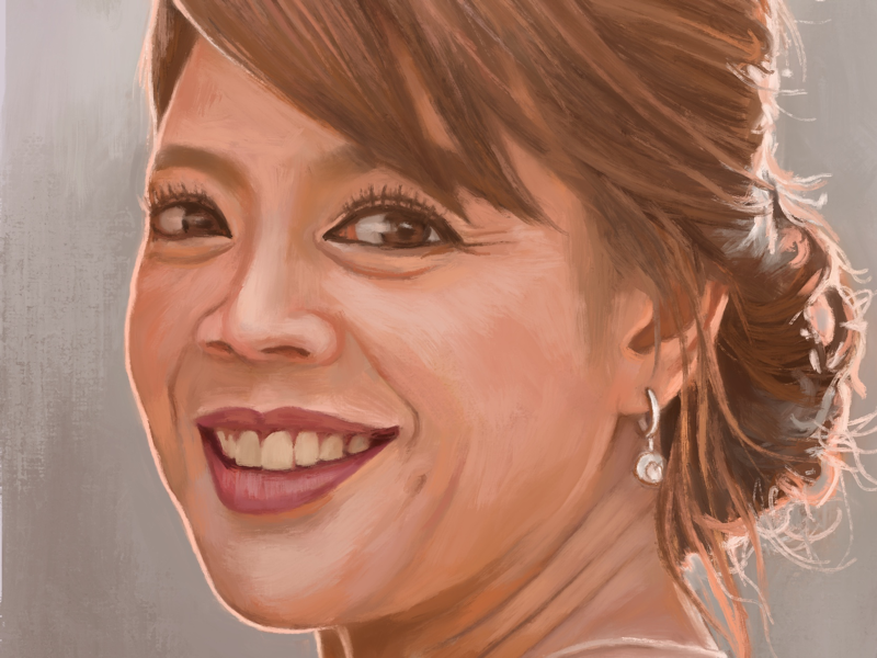 Kwang procreate portrait painting digitalpainting