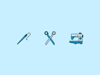 Arts & Crafts Icons