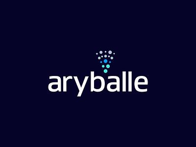 Aryballe Branding typography branding shape design icon vector brand design animation print mark brand identity identity logo illustration brand