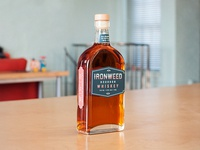 Ironweed Bourbon Whiskey Packaging