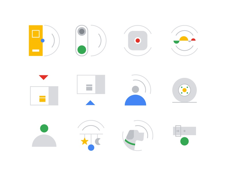 Sound & Motion Icon Set ui illustration iconset icons iconography design icon design icon