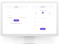Login and Sign up Form