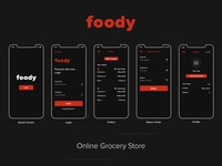Foody online grocery store