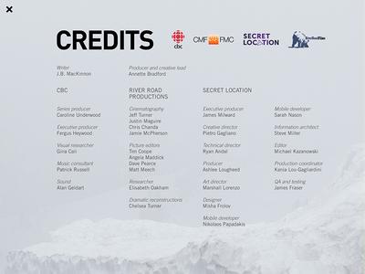 Wild Canada ios cbc ipad grid layout native