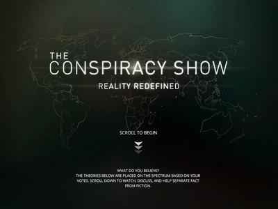 Conspiracy Show conspiracy show cs ux ui
