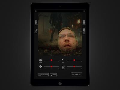 Sleepy Hollow - iOS App SDCC Installation. ios ipad vr oculus rift ux ui