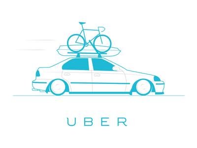 Uber illustration product design uber design