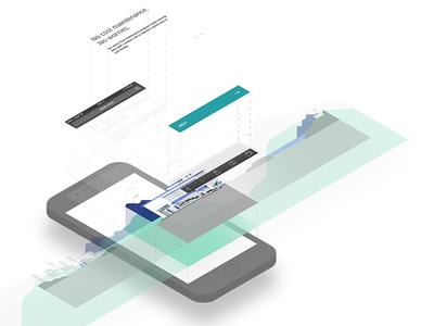 Breakdown of the Trust Carousel dribbble uber interface ux design ui