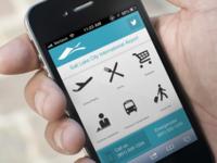 SLC Airport mobile site